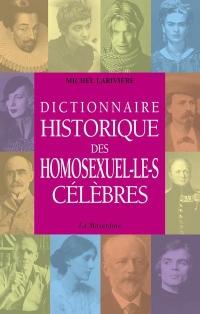 Dictionnaire historique des homosexuel.le.s célèbres