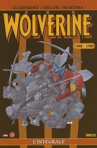 Wolverine : L'intégrale : 1988-1989