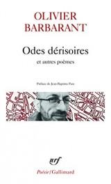 Odes dérisoires et autres poèmes [Poche]