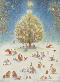 Calendrier de l'Avent Noël en Forêt