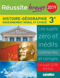 Réussite brevet 2019 - Histoire-Géographie