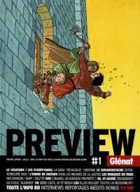 Preview, N° 1, Janvier-juille : Le point sur toute la bande dessinée des éditions Glénat