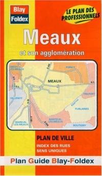 Plan de ville : Meaux (avec un index)