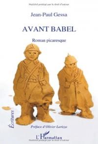 Avant Babel Roman Picaresque