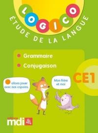 Pochette Logico Grammaire et conjugaison CE1