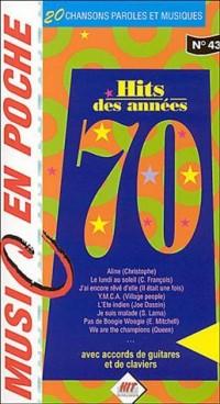 Hit des Années 70 (music en poche n° 43)