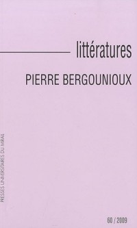 Littératures, N° 60, 2009
