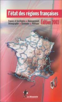 L'Etat des régions françaises