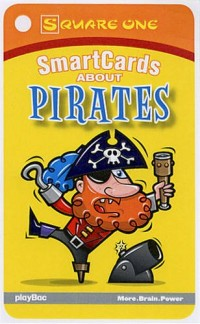Square One Smartcards About Pirates: Smartcards About Pirates