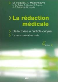 La rédaction médicale. De la thèse à l'article original, La communication orale, 4ème édition