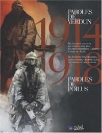 Paroles de Poilus ; Paroles de Verdun 1914-1918 : Coffret en 2 volumes
