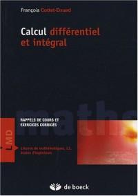 Calcul différentiel et intégral : Rappels de cours et exercices corrigés