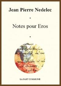 Notes pour Eros