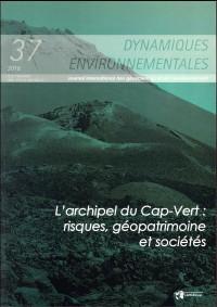 L'archipel du Cap-Vert : risques, géopatrimoine et sociétés