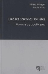 Lire les sciences sociales : Volume 6
