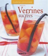 Verrines sucrées