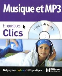 Musique et MP3 (1Cédérom)