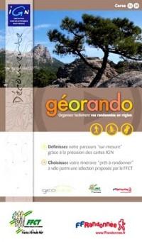 IGN - Géorando Corse - DVD de préparation de randonnées