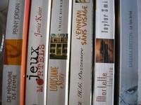 lot 6 titres harlequin collection best sellers (de mémoire de femme - jeux mortels - louisiane story - l'ennemi sans visage - mortelle filature - le lien brisé)