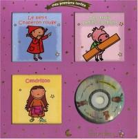 Mes premiers contes, coffret or : Le petit chaperon rouge; Les trois petits cochons; Cendrillon (1CD audio)