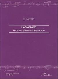 Harmotome : Pièce pour guitare en 5 mouvements