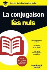 La Conjugaison pour les Nuls poche
