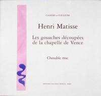 Les gouaches découpées de la Chapelle de Vence : Chasuble rose