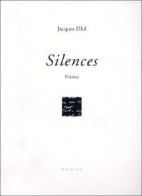 Silences. Poèmes