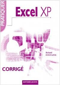 Pratiquer Excel XP : Corrigé