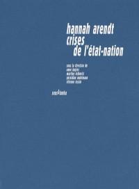 Hannah Arendt, crises de l'état-nation : Pensées alternatives