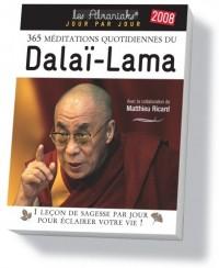 365 Méditations Quotidiennes du Dalai-Lama 2008