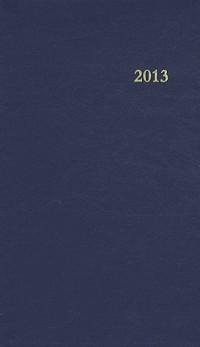 Agenda du Chretien 2013 Bleu