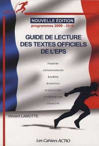 Guide de lecture des textes officiels de l'EPS