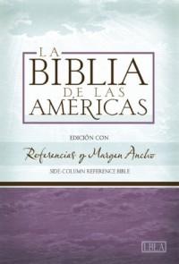 Santa Biblia: La Biblia De Las Americas, Burgundy, Imitacion Piel, Referencias Y Margen Aucho