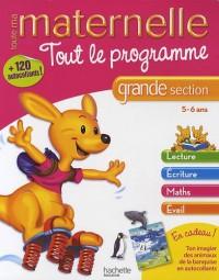 Tout le programme maternelle grande section : 5-6 ans
