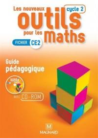 Les nouveaux outils pour les maths CE2 (Cycle 2) : Guide pédagogique (1Cédérom)