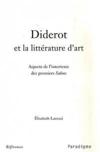 Diderot et la littérature d'art : Aspects de l'intertexte des premiers Salons