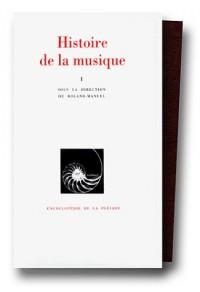 Histoire de la musique, tome 1 : Des origines à Jean-Sébastien Bach
