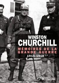 Mémoires de la Grande Guerre, Tome 2 - 1915-1918