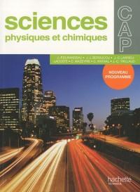 Sciences physiques et chimiques CAP : Nouveau programme