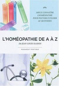 L'Homéopathie de A à Z