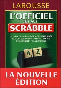 L'Officiel du Scrabble, édition 2004