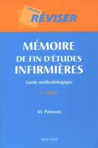 Mémoires de fin d'études infirmières : Guide méthodologique