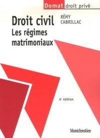Droit civil : Les régimes matrimoniaux