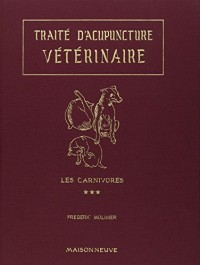 Traite d acupuncture veterinaire volume 3