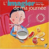 L'Imagier de ma journée (1 livre + 1 CD audio)