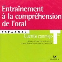 Cuenta Conmigo - Espagnol Terminale, CD Audio Comprehension de l'Oral pour la Classe