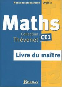 Thévenet : Maths, CE1 (Manuel du professeur)