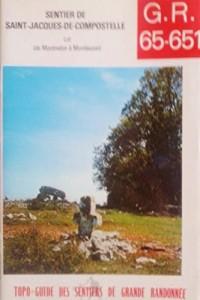 G.R. Grande randonnée 65-651 +soixante-cinq-six cent cinquante-et-un : Tronçon quercynois de Montredon à Montlauzun, 154 km, G.R. 651, vallée du Célé de Béduer à Bouziès, 58 km