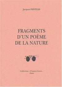 Fragments d'un poème de la nature : Edition bilingue Français-Grec